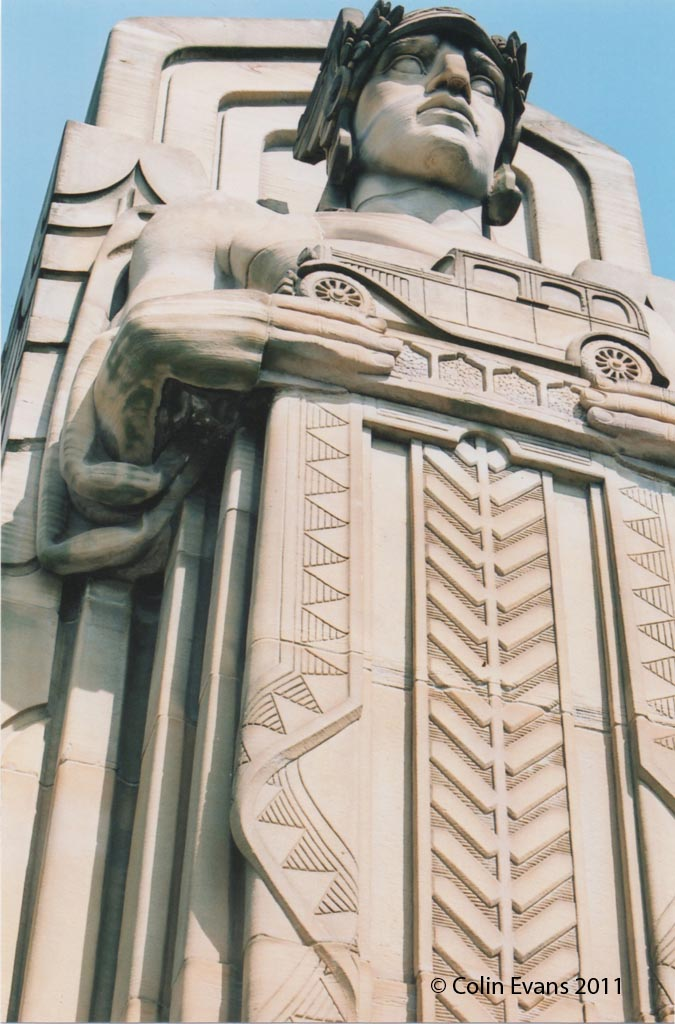 Lorain Bridge Statue
